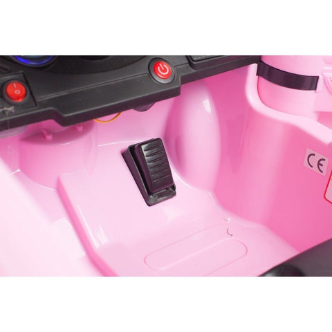 C Class Saloon - 12V Kids' Electric Ride On Car - Pink - EpicStuff