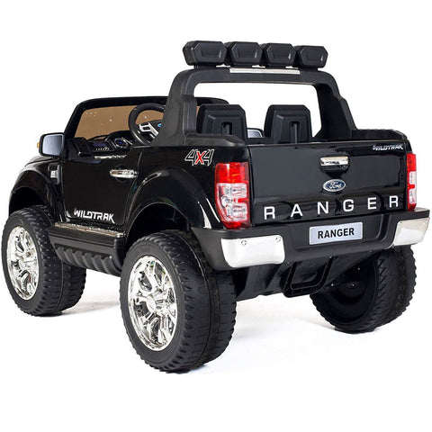 Ford Ranger Wildtrak 2017 Licensed 4WD 24V* Battery Ride On Jeep - Black - EpicStuff