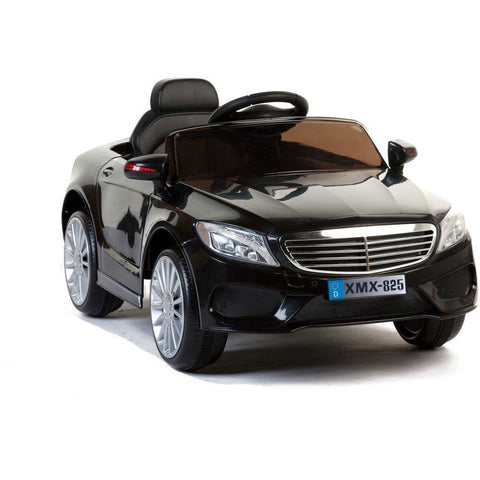 A8 Saloon - 12V Kids' Electric Ride On Car - Black - EpicStuff