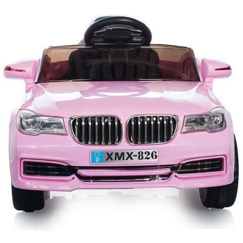X5 Saloon - 12V Kids' Electric Ride On Car - Pink - EpicStuff