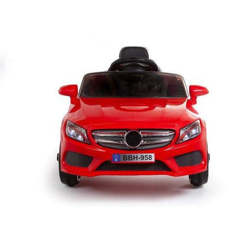 12V C Class Style Ride On Car - Red - EpicStuff