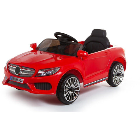 12V C Class Style Kids  Ride On Car - Red - EpicStuff