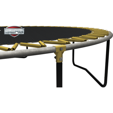 BERG Elite Trampoline - Grey + Safety Net Deluxe - EpicStuff