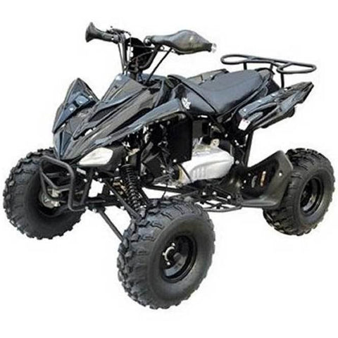 "Cheetah 125cc Youth Quad Bike 8"" Fat Boi Tyres - Black - EpicStuff"