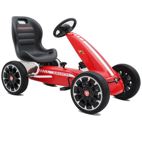 Licensed Abarth Pedal Go Kart - Red - EpicStuff