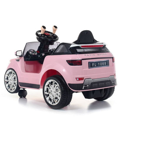 Battery Powered - 6V  Evoque Ride On Car - Pink - EpicStuff