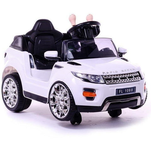 Battery Powered - 6V  Evoque Ride On Car - White - Pre Order - EpicStuff