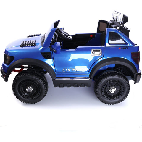 Ford Ranger Wildtrak Style 12v Child's Electric Ride On Jeep - Blue - EpicStuff