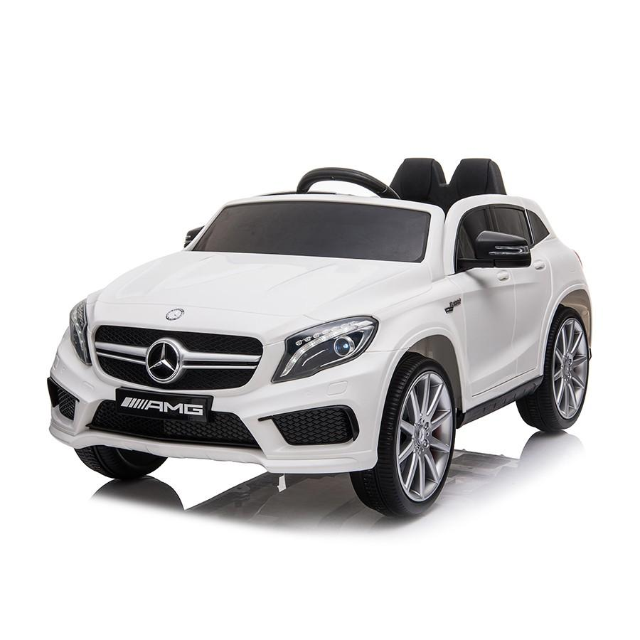 12V Licensed Mercedes GLA Ride On Car - White - EpicStuff