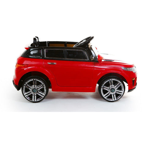 Battery Powered - 12V Range Rover Style Ride On Car - Red - EpicStuff