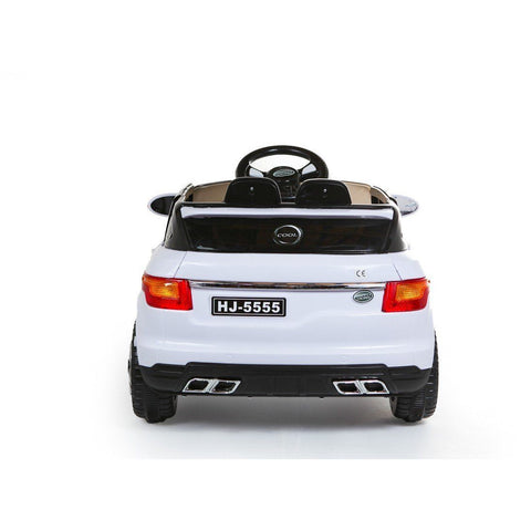 Battery Powered - 12V Range Rover Style Ride On Car - White - EpicStuff