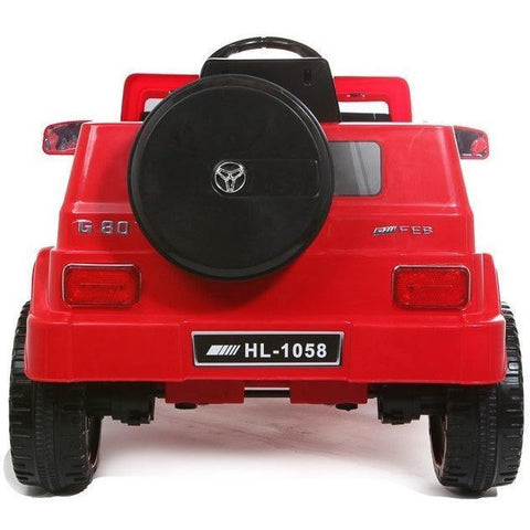 12V G-Wagon Battery Ride On Car - Red - EpicStuff