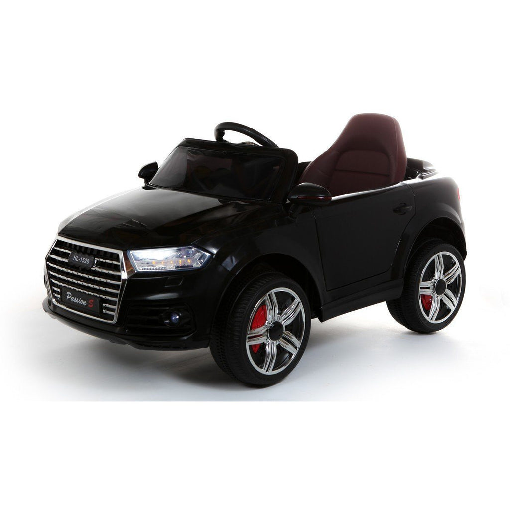 Battery Powered - 12V GLS Style Ride On Car - Black - EpicStuff