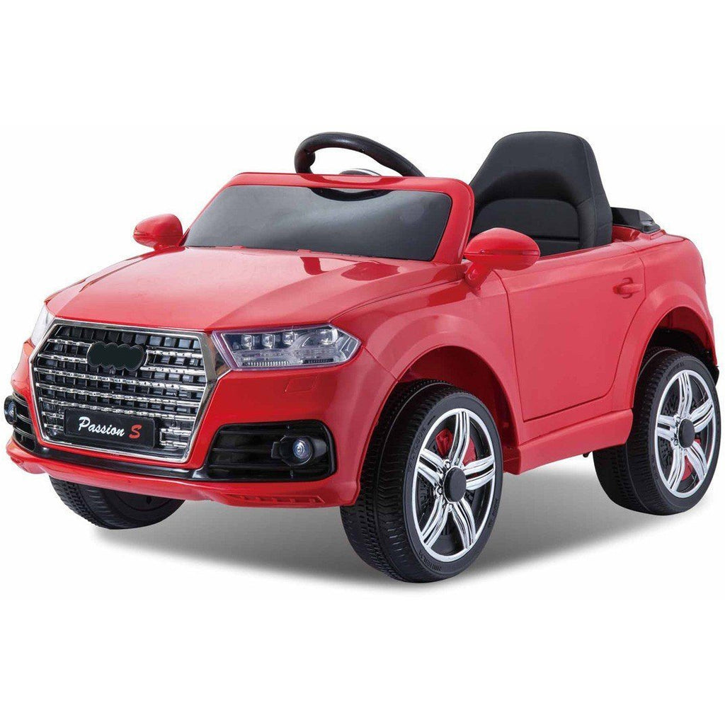 12V Battery Powered Q7 Style Ride On Car - Red - EpicStuff