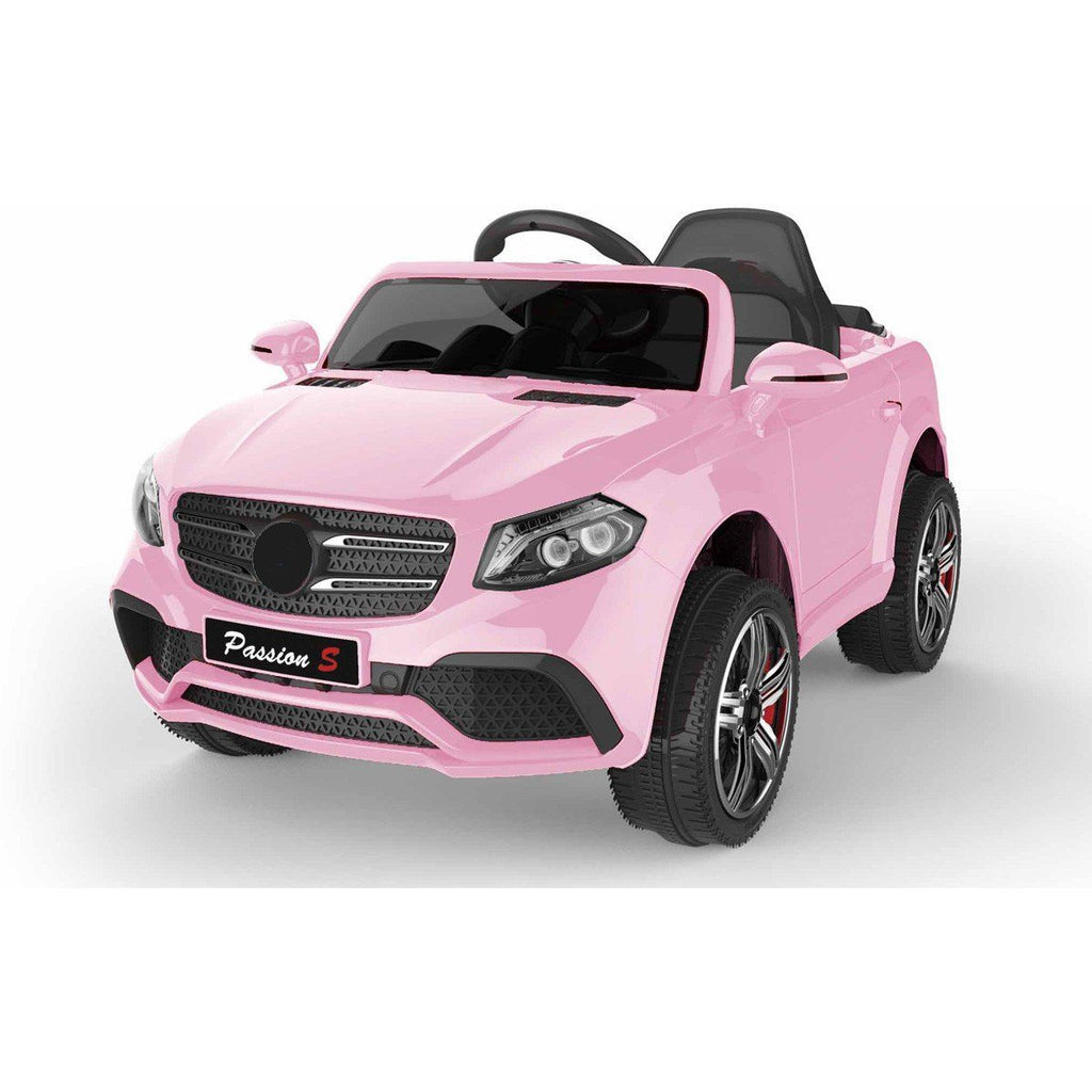 Battery Powered - 12V GLS Style Ride On Car - Pink - EpicStuff