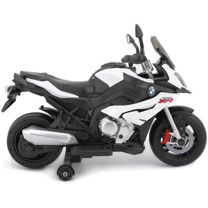 BMW S1000XR Licensed Kids Motorcycle 12v - White - EpicStuff