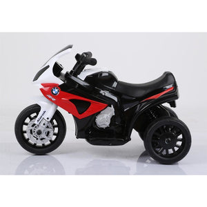 Licensed 6V 35W BMW Kids Electric Ride On Toy Motorcycle - Red - EpicStuff