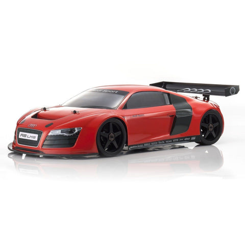 KYOSHO NITRO INFERNO GT2 RACE SPECS AUDI R8 LMS RED  - READYSET - EpicStuff