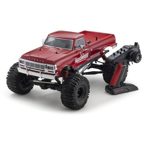 KYOSHO MAD CRUSHER NITRO 1:8 GP 4WD READYSET - RED/BLUE - EpicStuff