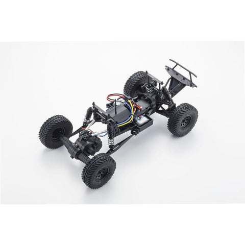 KYOSHO OUTLAW RAMPAGE 1:10 EP 2WD TRUCK - BLUE/WHITE - READYSET - EpicStuff