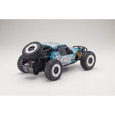 KYOSHO AXXE 1:10 EP BUGGY (KT231P) - T4 GREEN READYSET - EpicStuff