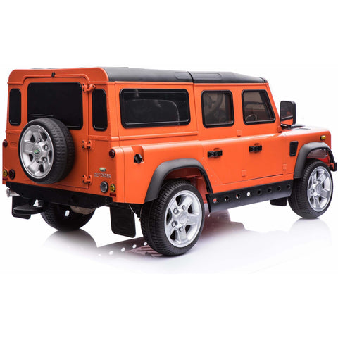 Licensed Land Rover Defender 12v Child's Ride On - Orange - Pre Order - EpicStuff