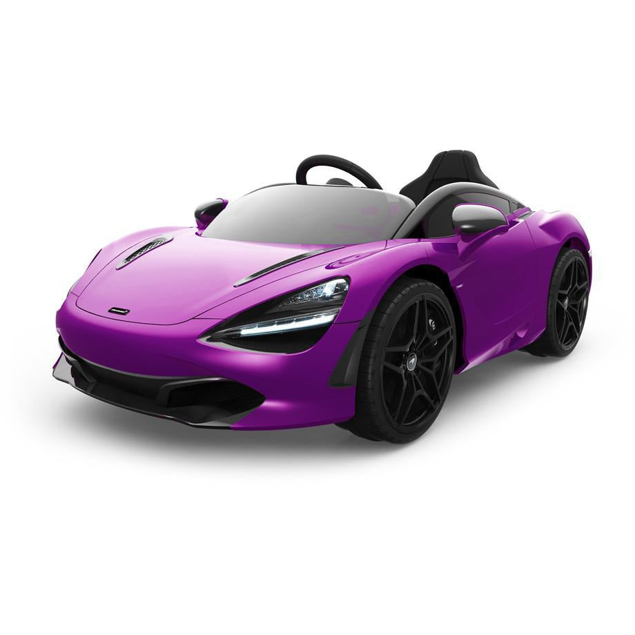 Licensed McLaren 720S  12V Battery Powered Kids Electric car - EVA - Lantana Purple - EpicStuff