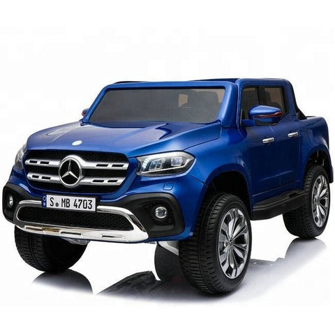 Licensed Mercedes-Benz X-Class 24V* 4WD Children's Ride On Pickup - Blue - EpicStuff