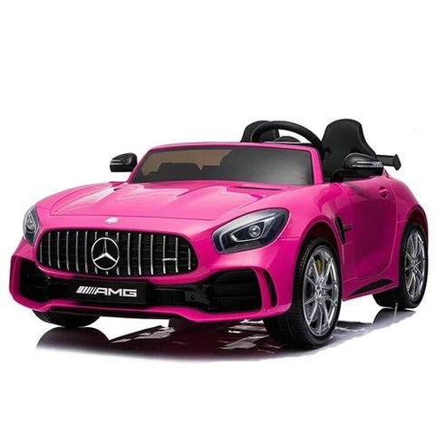 Licensed Mercedes-Benz AMG GTR 24V* 4WD 2 Seater Ride On Car - Pink - EpicStuff