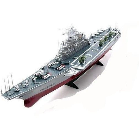 Navy Aircraft Carrier RC Boat - EpicStuff