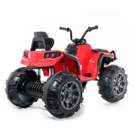 12V Twin Motor Quad - Red - EpicStuff