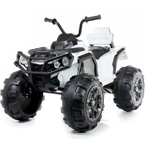 12V Twin Motor Quad - White - EpicStuff