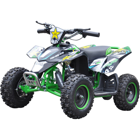 Renegade LT100E Electric Battery 1000w Quad Bike - Green - EpicStuff