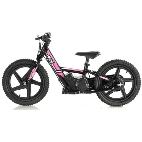 "Revvi Lithium 16"" Kids Electric Dirt Bike - 24v Motorbike - Pink - Pre Order - EpicStuff"