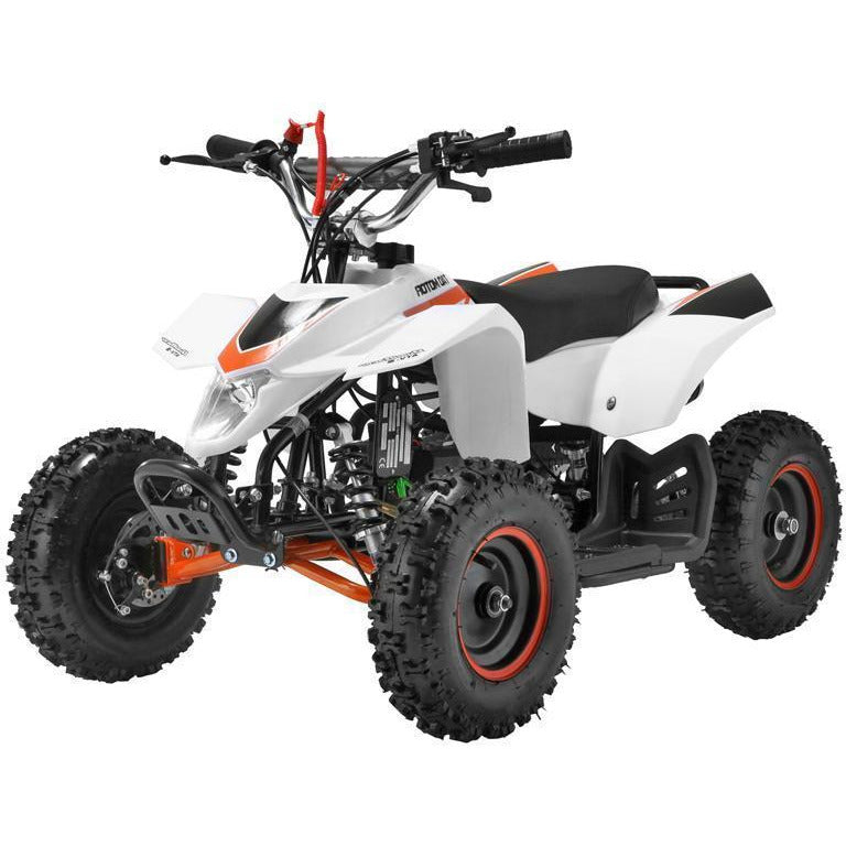 Mini 50cc Quad Bike Avenger - White - EpicStuff