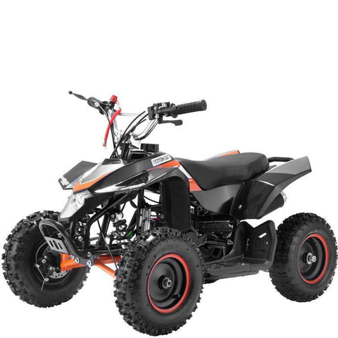 Mini 50cc Quad Bike Avenger - Black/Orange - EpicStuff