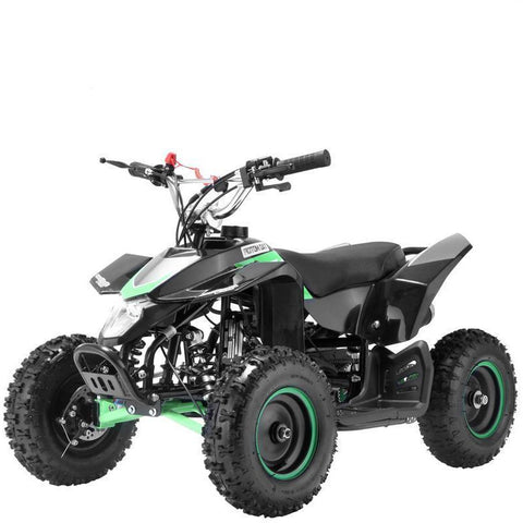 Mini 50cc Quad Bike Avenger - Black/Green - EpicStuff