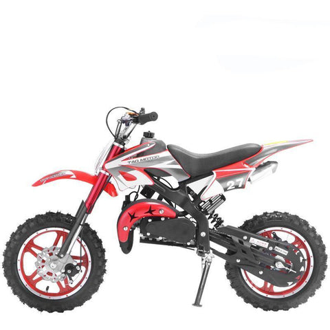 Mini Kids Scrambler 50cc Blaster - Red - EpicStuff