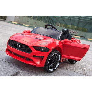 12V Ford Mustang GT Style Ride on Sports Car - Red - EpicStuff