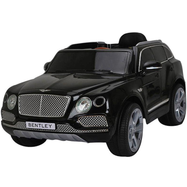 Licensed Bentley Bentayga SUV 12v Electric Ride on Car with Remote - Metallic Black - EpicStuff