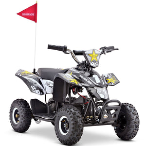 Renegade LT35 Electric Battery 350w Quad Bike - Black/White - EpicStuff