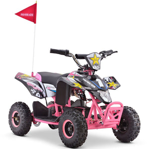 Renegade LT35 Electric Battery 350w Quad Bike - Pink - EpicStuff