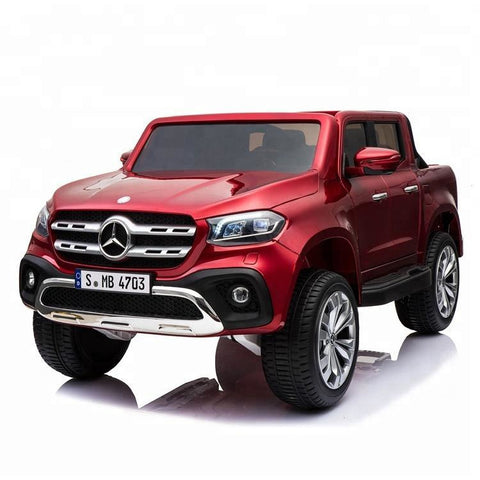 Licensed Mercedes-Benz X-Class 24V* 4WD Children's Ride On Pickup - Red - EpicStuff