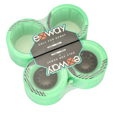 Exway X1 85mm-56mm Electric Skateboard Mint Wheels - Full Set - EpicStuff