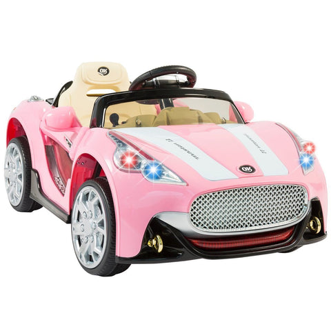 Maserati style 12v Ride-on Children's Electric car - Pink - EpicStuff