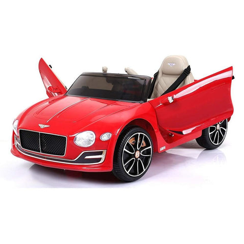 Licensed Bentley EXP12 12V* Ride-On Children's Electric Car - Red - EpicStuff