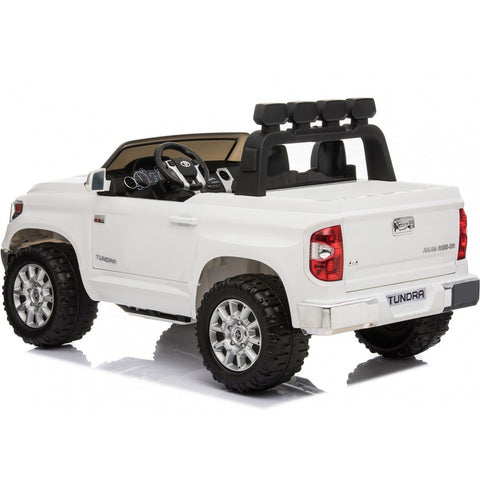 Licensed Toyota Hilux 24V Ride-On Children's Electric Jeep Pickup - White - EpicStuff