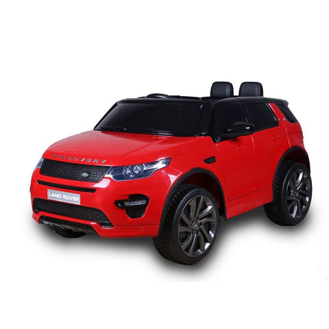 12V Licensed Land Rover Discovery HSE Sport Ride On Car - Red - EpicStuff