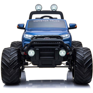 LICENSED FORD RANGER 4WD 24V* KIDS MONSTER TRUCK RIDE ON WITH EVA - BLUE - EpicStuff