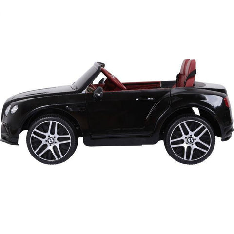 Licensed Bentley Continental Supersports 12V Ride On Children's Electric Car - Black - EpicStuff